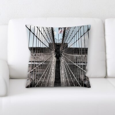 Gorski City of New York Throw Pillow