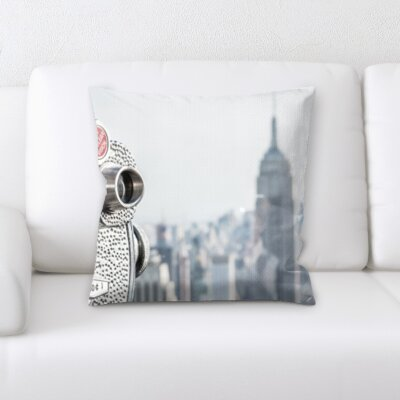Bourgeois City of New York Throw Pillow