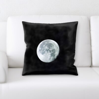 Brust Moon Throw Pillow