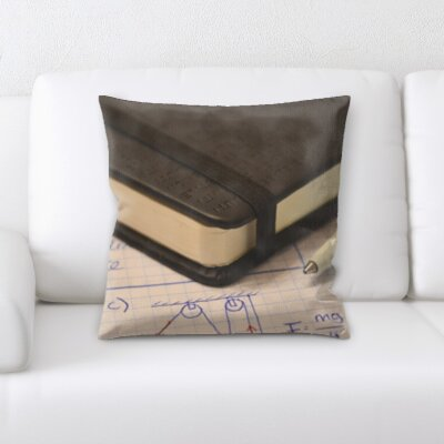 Bruton Notebook Throw Pillow