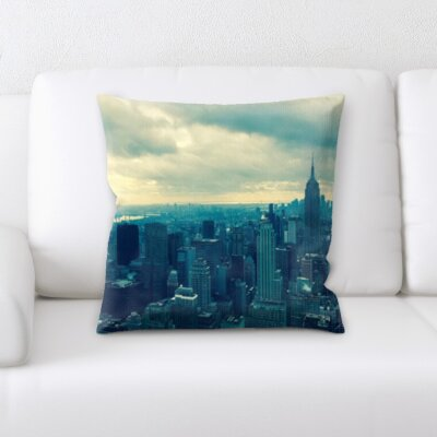 Bourn City of New York Throw Pillow
