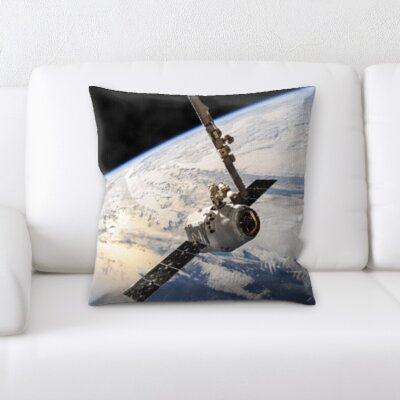 Bryker Woods Satellite Throw Pillow
