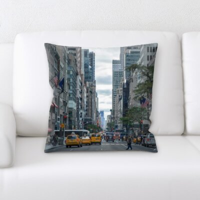 Bousquet City of New York Throw Pillow