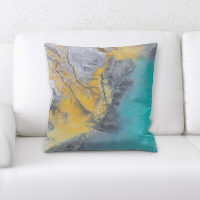 Fales Abstract Textures Throw Pillow