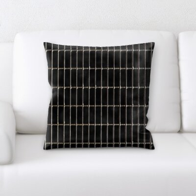 Burson Abstract Textures Throw Pillow