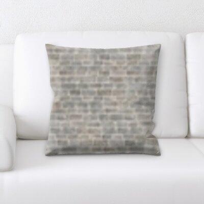 Gosnells Brick Textures Throw Pillow