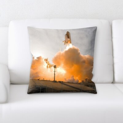 Bucklin Space Shuttle Throw Pillow