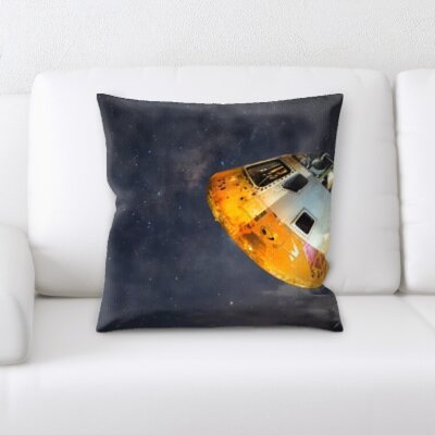 Buckman Space Shuttle Throw Pillow