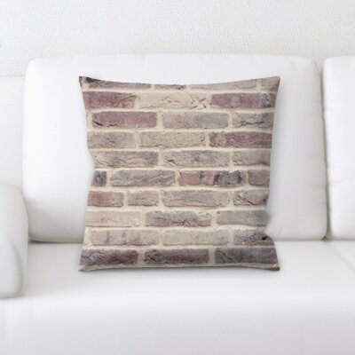 Gosney Brick Textures Throw Pillow