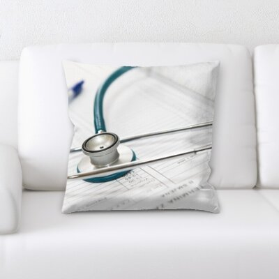Bucktown Stethoscope Throw Pillow