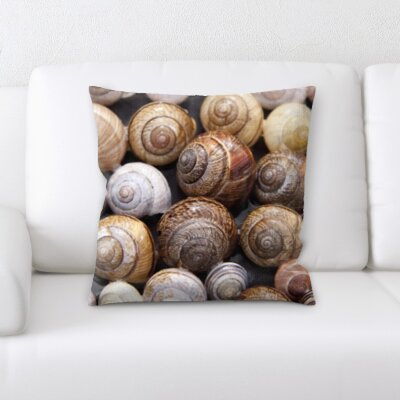 Hornbeck Multiple Sea Shells Throw Pillow
