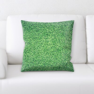 Buscher Grass Textures Throw Pillow