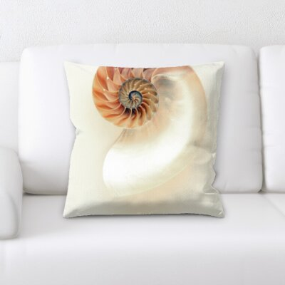Hornell Sea Shells Throw Pillow