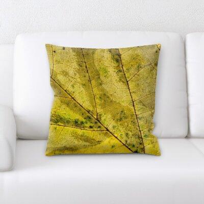 Buschwick Leaf Textures Throw Pillow