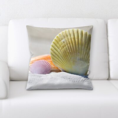 Hornung Sea Shells Throw Pillow