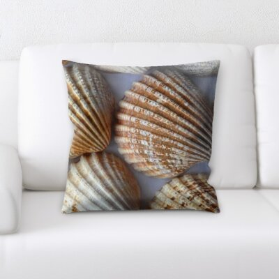 Horrell Sea Shells Throw Pillow