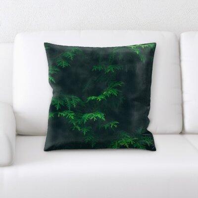 Busey Plant Texture Throw Pillow