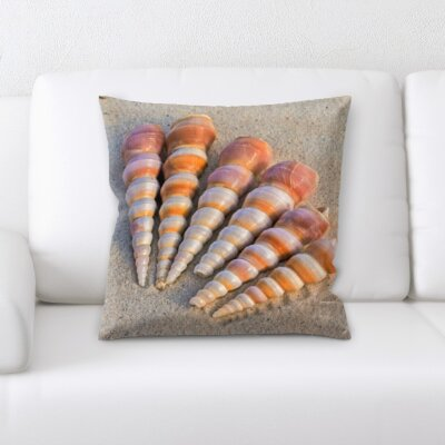 Horrocks Sea Shells Throw Pillow