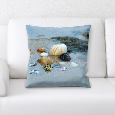 Horst Sea Shells Throw Pillow
