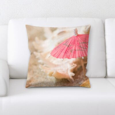 Horvath Sea Shells Throw Pillow