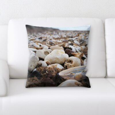 Hoskinson Sea Shells Throw Pillow