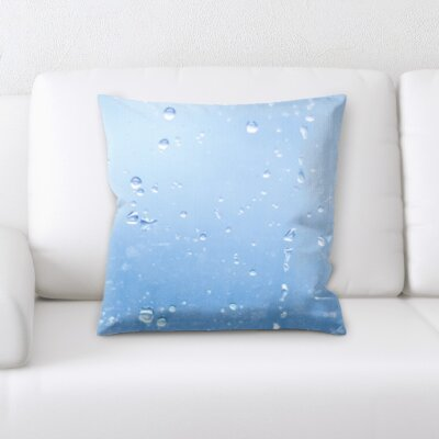 Cambell Water Textures Throw Pillow