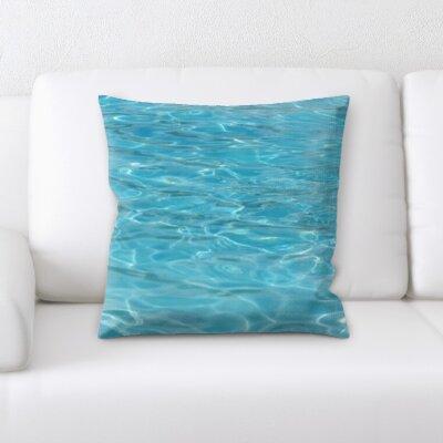 Campana Water Textures Throw Pillow