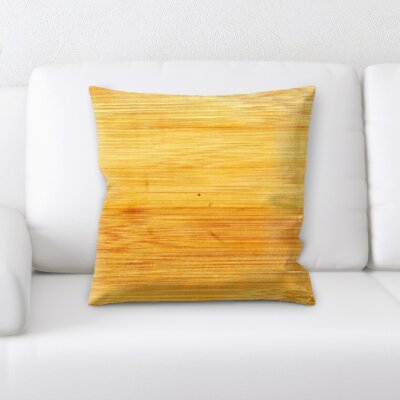 Campbelltown Wooden Texture Throw Pillow
