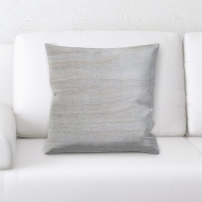 Gosser Wooden Textures Throw Pillow
