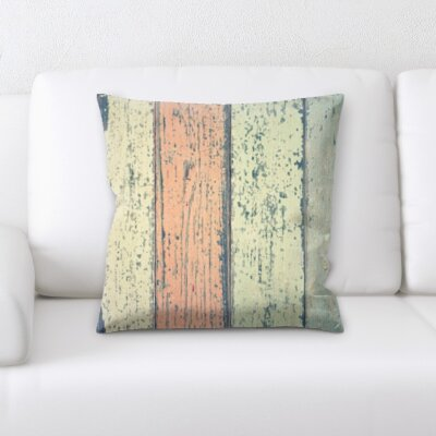Hotaling Wooden Textures Throw Pillow