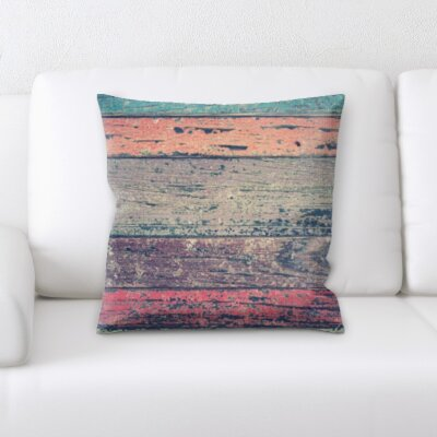 Hottinger Wooden Textures Throw Pillow