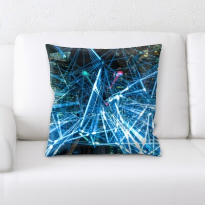 Burlison Technology Throw Pillow