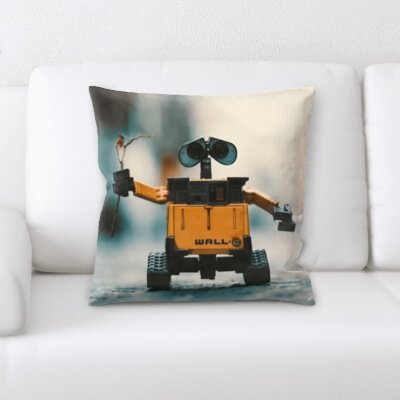 Burmeister Walle Robot Toy Throw Pillow