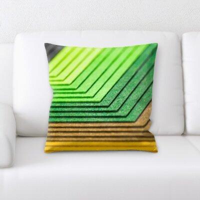 Burnham Abstract Textures Throw Pillow