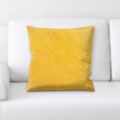 Burnie Abstract Textures Throw Pillow
