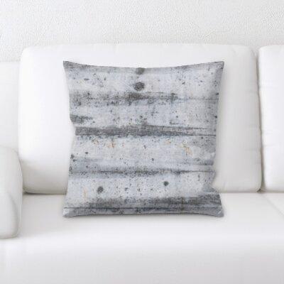 Gossett Wooden Textures Throw Pillow