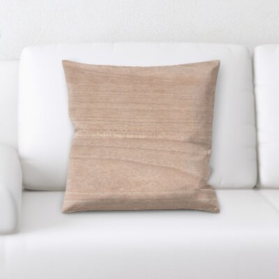 St Judes Wooden Textures Throw Pillow