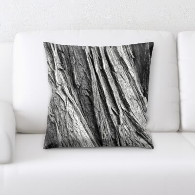 Campuzano Wooden Textures Throw Pillow