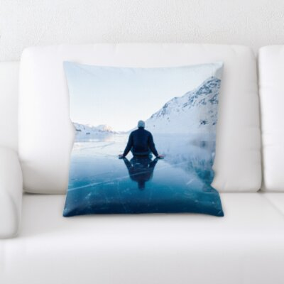 Cangelosi Meditation Throw Pillow