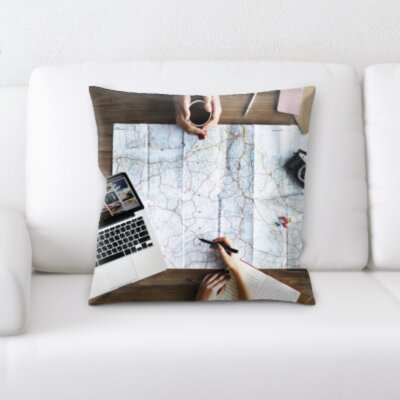 Cantara Planning to Travel Throw Pillow
