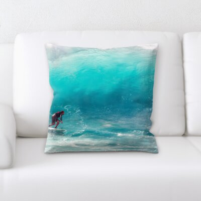 Houchens Surfing Throw Pillow