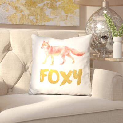 Rosalina Foxy Throw Pillow