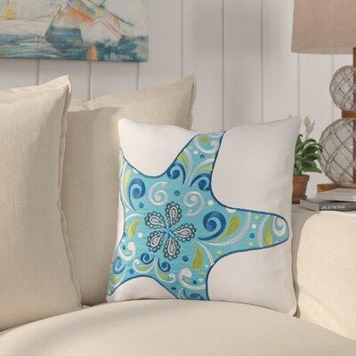 Danise Starfish Cotton Throw Pillow