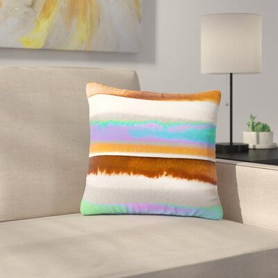 Ebi Emporium Prism Stripes 1 Outdoor Throw Pillow Size: 16 H x 16 W x 5 D