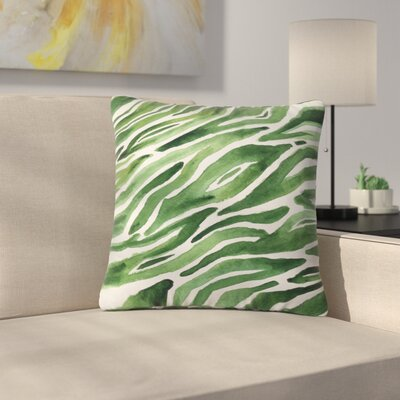 Elena Blanco Flow Outdoor Throw Pillow