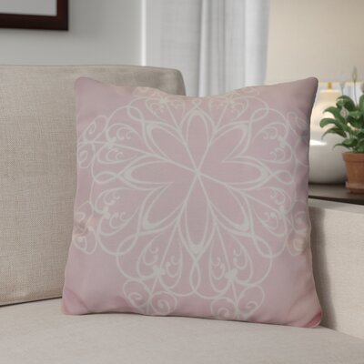 Decorative Holiday Print Throw Pillow Size: 20 H x 20 W, Color: Light Pink