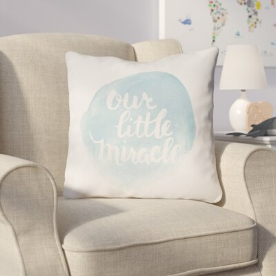 Gianna Indoor/Outdoor Throw Pillow Size: 20 H x 20 W x 4 D, Color: Blue