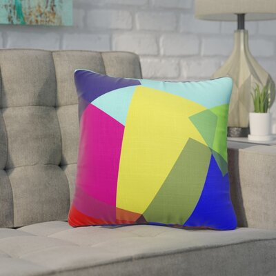 Fetters Blocks Accent Throw Pillow Size: 24 x 24