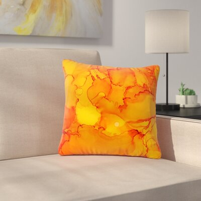 Claire Day Outdoor Throw Pillow Size: 18 H x 18 W x 5 D