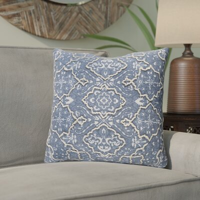 Chiranjeevi Throw Pillow Color: Blue